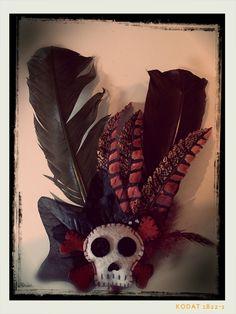 Zelfgemaakt haarstukje voor mijn Halloween outfit: Burlesque-Clown
