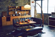 Cafe Tables, Table And Chairs, Dining Table, Interior Styling, Interior Design, Small Bars, Bar Lounge, Cafe Design, Ideal Home