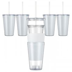 Paper Insert Acrylic Tumbler Double Wall 16 Oz - Save A Cup