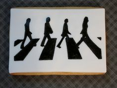 abbey road on a cookie-how amazing!