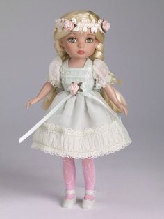 """Effanbee/Tonner PATSYETTE FLOWER GIR DOLL - 8"""" Tiny Betsy Body - Sold Out - NRFB #Dolls"""