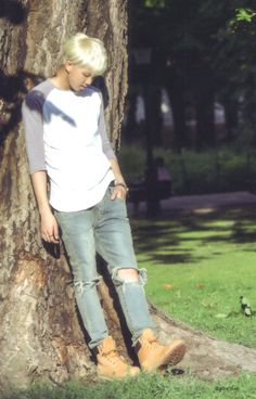 BTS RM   he looks so nice here omg his hair his pose his body the way the light hits him omfg this is perfection.
