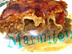 Cannelloni de viande - Recette de cuisine Marmiton : une recette