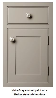 Gorgeous Decorated Cupboard Concepts & Motivation pertaining to bathroom or kitchen. Taupe Kitchen Cabinets, Kitchen Cabinet Colors, Kitchen Redo, Kitchen Ideas, Gray Cabinets, Basement Kitchen, Bathroom Cabinets, Custom Kitchens, Grey Kitchens