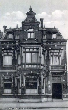 Stationsweg Leiden-werd later Discotheek Club 70