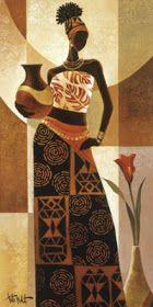fasci-arte: Pinturas africanas African Drawings, African Artwork, African Art Paintings, Black Art Painting, Black Artwork, Black Girl Art, Black Women Art, African American Art, African Women