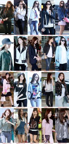 SNSD Yoona Airport Fashion Collection 2014 January- June