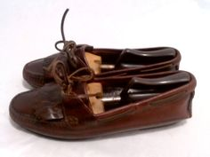 b1d6f43acc0c0f Johnston   Murphy Shoes 10.5M Brown Kiltie Loafers Johnston Murphy