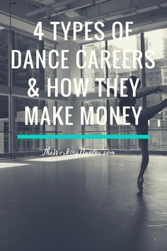 4 Types of Dance Careers & How They Make Money | We all know that there's no set path to becoming a professional dancer. ?Aside from the years of training, dedication, and hard work, no two dancer's career paths will be exactly the same. ?So your starting point is here...ready to be a #workingdancer. ?Next, you'll need to know where you're going. ?Here's some insight to help you find your destination. ?Click to read, or pin and save for later.