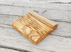 Wooden Soap Holder - Bathroom Olive Wood Soap Dish by Zitouna Wood on Gourmly