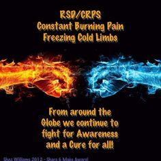 RSD/CRPS - There needs to be more awareness! My husband has this.