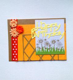 Spring birthday card!
