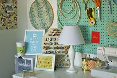 Miss Indie: Inspiring Crafty Spaces