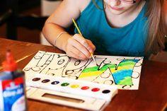 art crafts, paint, kid crafts