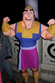 Disneyland Paris, Characters, Halloween, Kronk