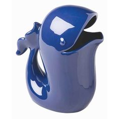 Blue Whale Decorative Pitcher - Whale Watering Can - Vase - Beach House Decor…
