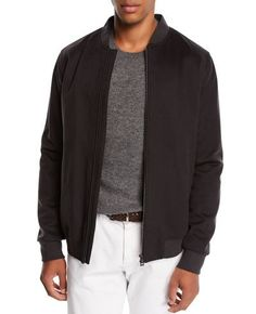 85fad9978454 Loro Piana Men s Light Baby Cashmere Crewneck Sweater