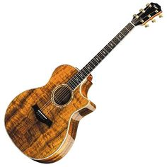 The Taylor koa guitar is offered in a full line of acoustic and acoustic electric models constructed from this memorable wood. Acoustic Guitar Notes, Guitar Pics, Music Guitar, Cool Guitar, Playing Guitar, Acoustic Guitars, Archtop Guitar, Fender Guitars, Guitar Exercises