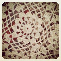 Hooked on crochet: Blusinha de crochê creme / Cream crochet top