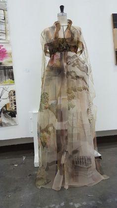 Seoul National University Oriental Art student semester exhibition Hanbok