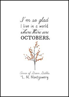 Anne of Green Gables Quote | Free Printable from On Sutton Place