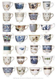 British Georgian cups 1760 – 1825