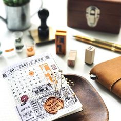 Good Morning 早安 ❺月 ❺日 星期❺ Have a wonderful & special day! ------------------------------------------- ☞ PERPETUAL CALENDAR Stamp by mizushima 水縞 | micia Ten Pcs Stamp Set CHINESE CHARATERS 06 | Cavallini VINTAGE NUMBERS stamp set for more detail , pls visit : www.pipitzakkastore.com ------------------------------------------- #pipitzakkastore #cavallinipapers #kodomonokao #soramame #kaweco #brass #fountainpen #journaling #journalingbible #handwriting #rubberstamp #collage #classiky #w...