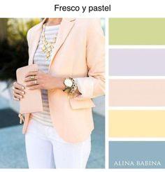Combinaciones de colores de ropa