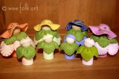 Shop :: Flower Fairies and Buds | Wee Folk Art tutorial and pattern