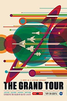 NASA Jet Propulsion Laboratory posters