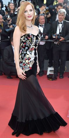 All the Celebrity Looks from the 2017 Cannes Film FestivalRed Carpet - Jessica Chastain from InStyle.com