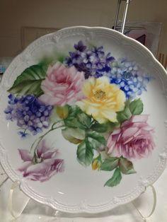 Beautiful Roses Plate