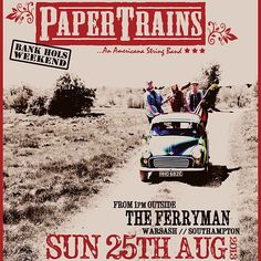 What a tip-top wknd so far :) Had a smashing gig Fri at The Talking Heads, followed by a cork-poppin' bday hoedown last night! Next stop: The Ferryman (Warsash) TODAY at 1pm on the decking (come on Mr sun)  …followed by some Monday bank holibob fun at The Brickmakers in Swanmore at 2pm. Yeehaw grandma …and other close relatives x (at The Ferryman)