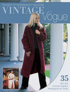 VINTAGE TO VOGUE #knitting pages 1 of 130
