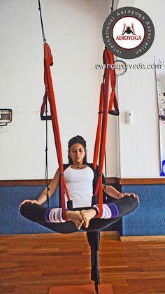 Aerila Yoga, aerial yoga teachers training by AeroYoga www.aerialyoga.tv SWING YOGA Y AYURVEDA MADRID-ARGENTINA 4 by yogacreativo, via Flickr
