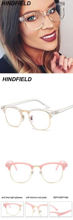 5d85082400f Korean fake glasses frames women transparent oculos clear lens square glasses  fashion optical frame eyeglasses oculos  frames  eyewear  accessories   plastic ...