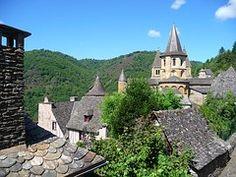 村, コンク, 中世, フランス