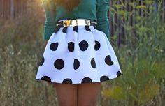 big polka dots :)