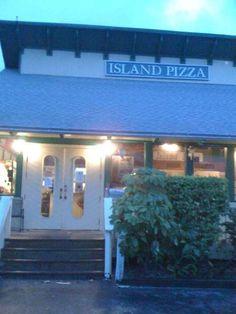 Island Pizza- BEST ever!  Sanibel Island, FL