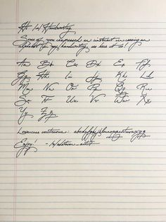 18 Pieces Of Handwriting So Satisfying They'll Make Everything OK Again