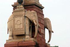 Located Near The Grand New Delhi Hotel, The Rashtrapati Bhavan (pronunciation Delhi Hotel, Edwin Lutyens, Tourist Places, New Delhi, I Want To Travel, Great British, Karnataka, Westerns, Asia
