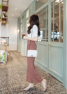 T-Shirts, Dress, Blouse, Skirts, Pants & Korean Fashion Trends, Korean Street Fashion, Korea Fashion, Asian Fashion, Daily Fashion, Simple Outfits, Classy Outfits, Stylish Outfits, Girl Outfits