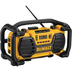 Dewalt Worksite Radio With Built-in Charger