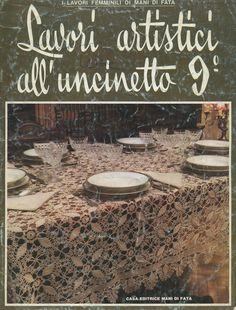 Журнал:«Lavori Artistici all Uncinetto 09 1976-10». Обсуждение на LiveInternet - Российский Сервис Онлайн-Дневников