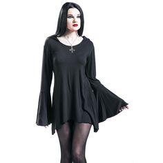 Gothicana by EMP  Langarmshirt  »Bat Hood« | Jetzt bei EMP kaufen | Mehr Gothic  Langarmshirts  online verfügbar ✓ Unschlagbar günstig!