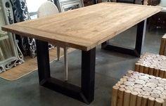 Nuovo tavolo ferro legno