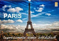 Paris - Impressionen einer Weltstadt / CH-Version - CALVENDO Kalender von Helmut Probst -  #calvendo #calvendogold #kalender #fotografie #paris