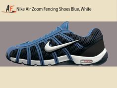 ccd9ed4482d67 Nike Air Zoom Fencing Shoes Obsidian White-Lt Photo Blue Fencing Shoes