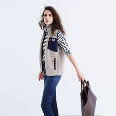 Massachusetts-based Penfield has been churning out top-notch, weather-resistant outerwear-coveted by fans of heritage-style clothing and outdoor enthusiasts alike-since 1975. This supercozy fleece vest is a beloved best-seller we return to year after year. <ul><li>True to size.</li><li>Wool fleece, mesh.</li><li>Machine wash.</li><li>Import.</li></ul>
