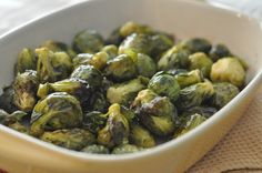 Mennonite Girls Can Cook: Roasted Brussel Sprouts